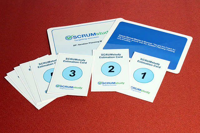Scrum Estimation Cards (8 pages)
