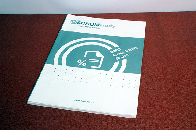 Scrum Master Certified (SMC<sup>®</sup>) Case Study Booklet (13 pages)