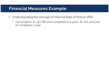 LSSGB Financial Measures Example