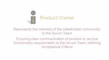 Core role- Product Owner
