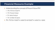 Financial Measures Example